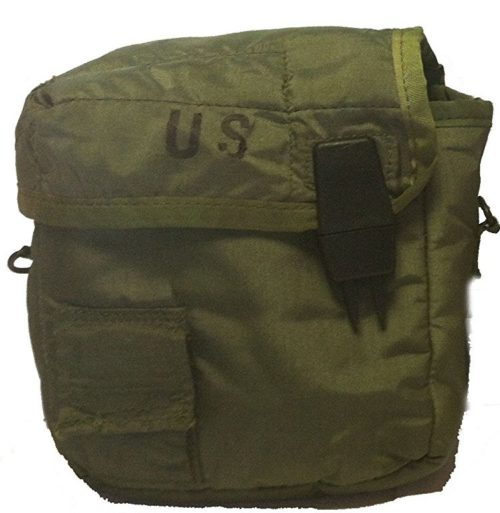 Military Surplus GI Issue Canteen Cover 2 QT. Green