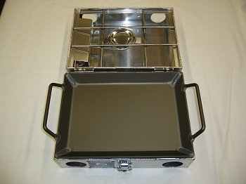 partner Steel 9 inch Griddle Front View