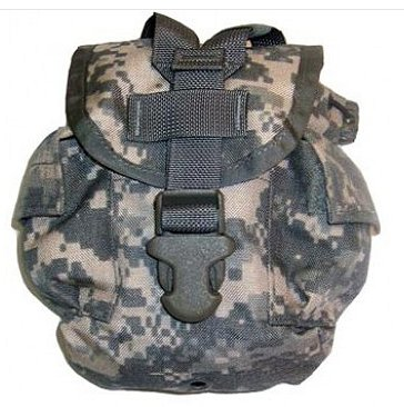 Military Surplus GI Issue Molle 1 Quart Canteen Pouch ACU