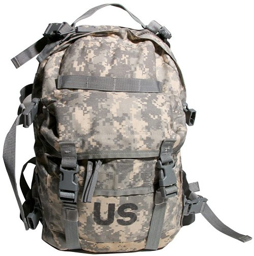 Military Surplus GI Issue MOLLE II SDS ACU Assault Pack 3 Day Backpack