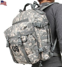 Military Surplus Gi Issue Molle Ii Sds Acu Assault Pack 3