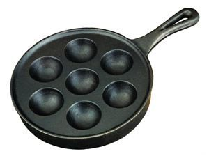 Camp Chef Cast Iron 9″ Aebleskiver Pan CIAS7