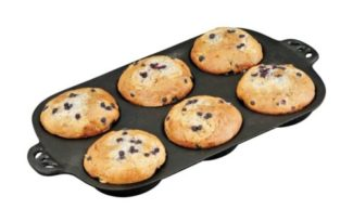 Camp Chef Cast Iron Muffin Toppers Biscuit Pan CIGT6