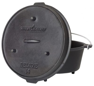 Camp Chef Deluxe 14″ Dutch Oven 12 qt.