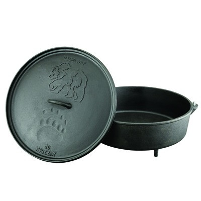 Camp Chef Cast Iron 16″ Dutch Oven 12 qt.