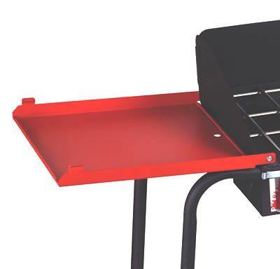 Camp Chef 14 Quot Folding Side Shelf Set For Two Burner Ls60p