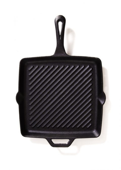 Camp Chef 11″ Square Skillet with Ribs
