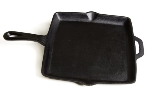 Camp Chef 11″ Cast Iron Square Skillet
