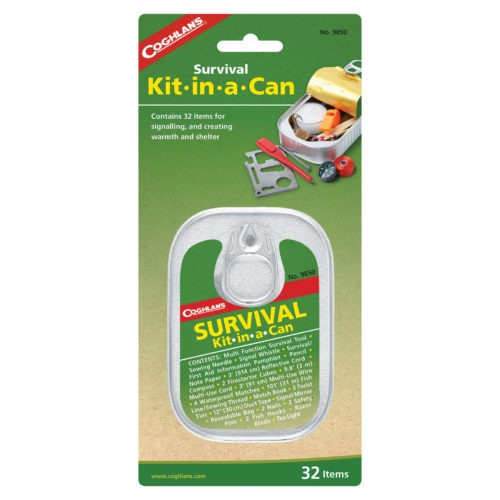 Coghlan's Survival Kit In A Can 38 Items