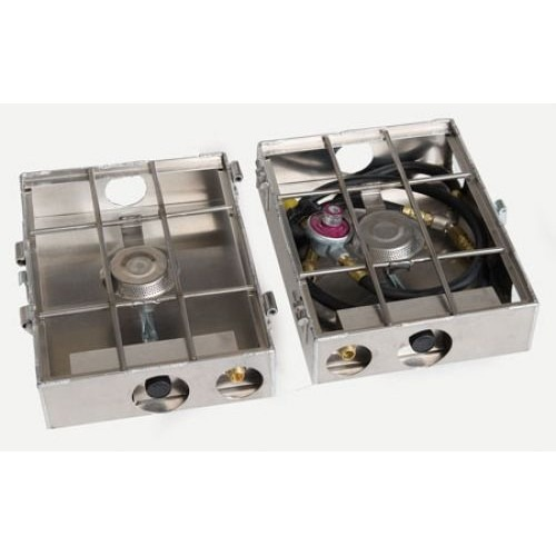 Partner Steel Cook Partner 2 Burner 9″ Break A Way Hinge Propane Stove