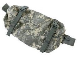 Military Surplus GI Issue MOLLE II Waist Pack or Fanny Pack ACU Camo