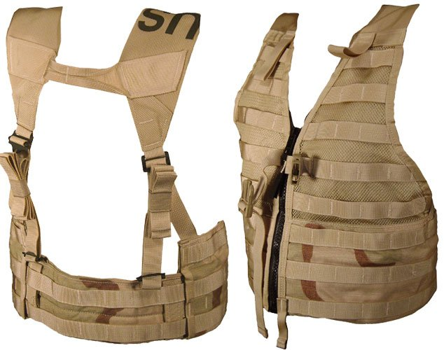 Military Surplus Gi Issue Molle Ii Tactical Flc Vest With