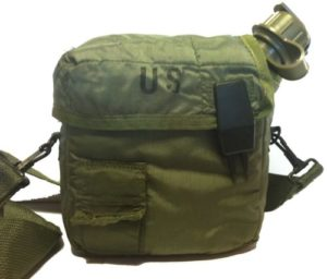 Military Surplus GI Issue DO Green 2 Qt Canteen & Insulated Cover