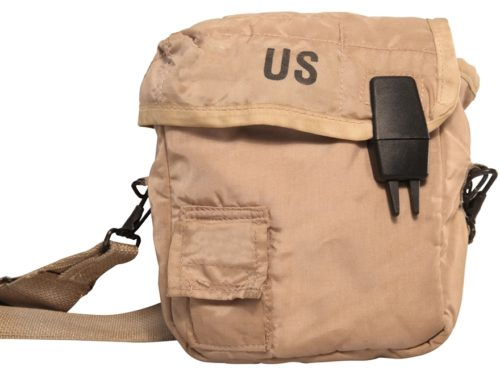 Military Surplus GI Issue Canteen Cover 2 QT. Tan