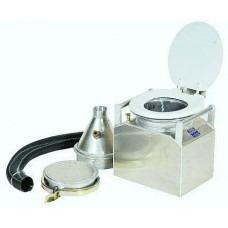 Partner Steel Jon-ny Partner Outdoor River Toilet Complete Unit