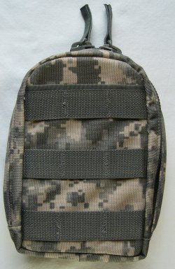 Military Surplus GI Issue Molle Leaders Admin Pouch with Inserts ACU