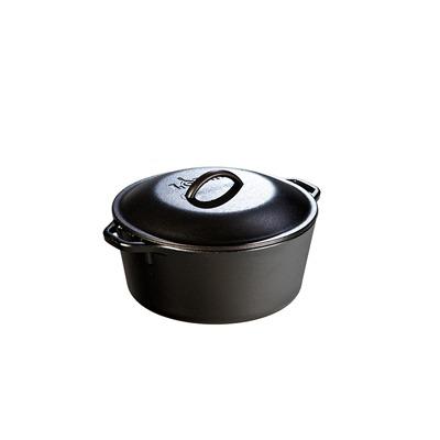Lodge 5 Quart Cast Iron Dutch Oven 10.25″