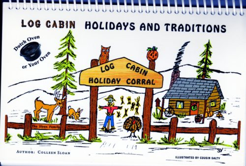 Log Cabin Holidays & Traditions Dutch Oven PDF Cookbook By Colleen Sloan