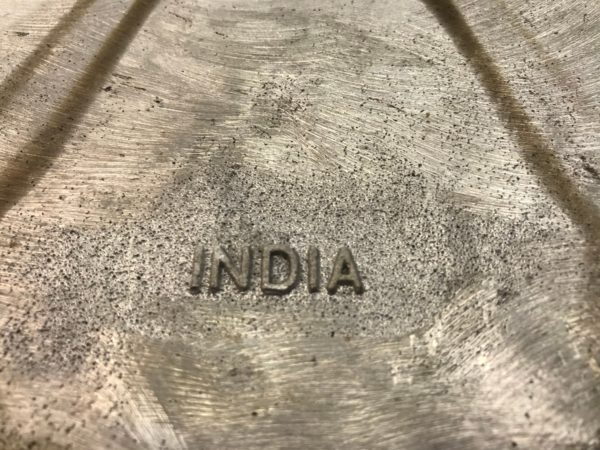 Maca Bottom Logo India Made