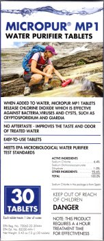 Katadyn Micropur Purification Tablets 30-Pack