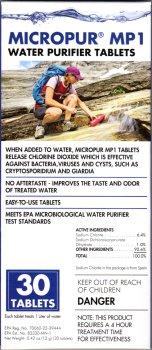 Katadyn Micropur Purification Tablets 30-Pack
