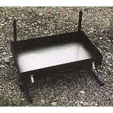 Partner Steel Small 24″ Fire Pan + Grill and Lid