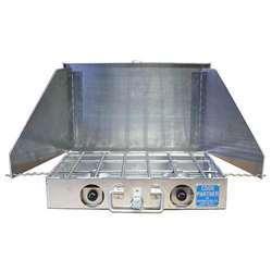 Partner Steel Cook Partner 2 Burner 16″ Propane Stove With Windscreen