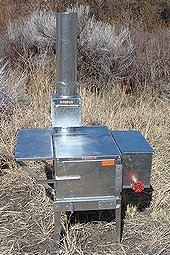 Riley Stove Little Amigo Wood Burning Camp Stove