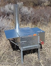 Riley Stove Side Kick Wood Burning Camp Stove