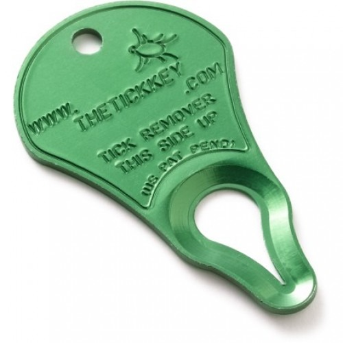 The Tick Key Anodized Aluminum Tick Remover