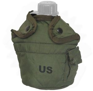 Military Surplus GI Issue Canteen Cover 1 QT Green