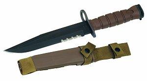 Military Surplus GI Issue USMC Ontario Knife M7 Bayonet System (Tan)
