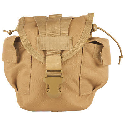 Military Surplus GI Issue MOLLE 1 qt Canteen Pouch Tan
