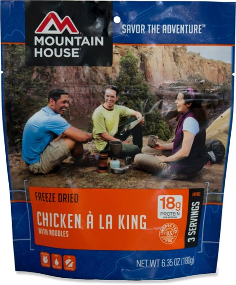 Mountain House Chicken a la King 3 Servings