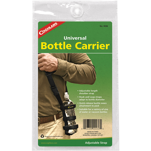 Coghlan's Bottle Carrier with Adjustable Shoulder Strap