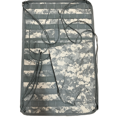 Military Surplus GI Issue USGI MOLLE II Vehicle Panel Storage (MVP) ACU Camo