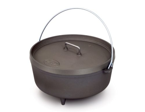 GSI 12″ Hard Anodized Aluminum Dutch Oven 5 qt.
