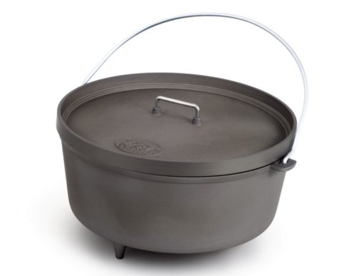 GSI 14″ Hard Anodized Aluminum Dutch Oven 8 qt.