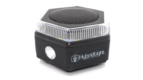 Hybrid Light Hex Bluetooth Speaker, Flashlight & Charger