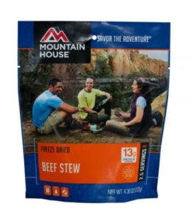 Mountain House Beef Stew 2.5 Servings