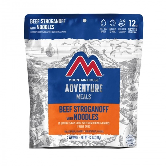 Mountain House Beef Stroganoff 2 People
