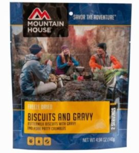 Mountain House Biscuits and Gravy 2 Servings