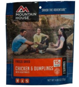 Mountain House Chicken Dumplings 2 Servings