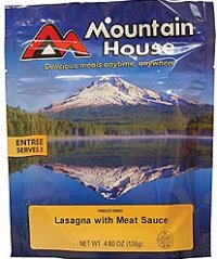 Mountain House Lasagna with Meat Sauce 2 Servings