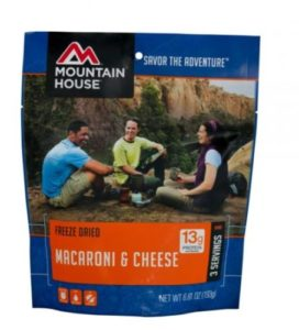Mountain House Macaroni & Cheese 3 Servings
