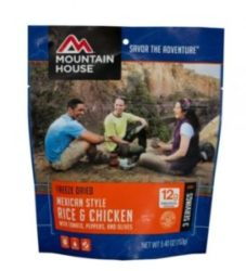 Mountain House Mexican Style Rice & Chicken 3 Servings