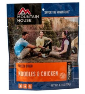 Mountain House Noodles & Chicken 2.5 Servings