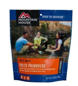 Mountain House Pasta Primavera 2.5 Servings