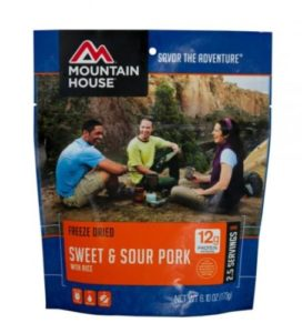 Mountain House Sweet & Sour Pork 2.5 Servings