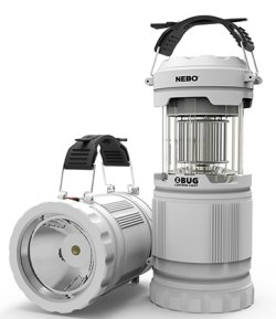 NEBO Z-Bug Lantern and Light – 250 Lumens